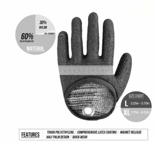Qwik-Release Fisherman's Glove