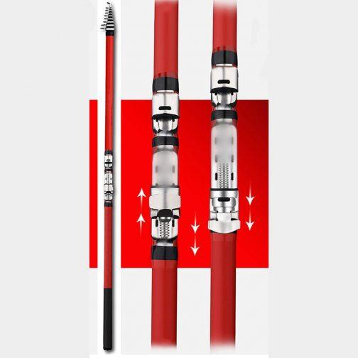 Portable Rotary Fishing Rod