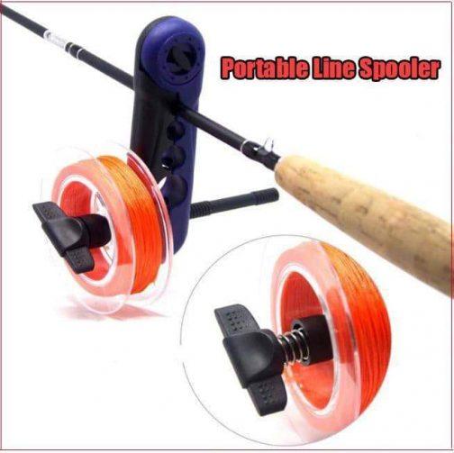 Portable Line Spooler