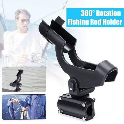 360 Rotation Fishing Rod Holder - handsfree fishing experience