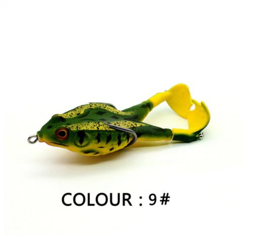 Double Propeller Frog Soft Bait