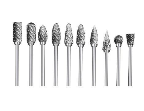 Tungsten Steel Carbide Rotary Burr Set