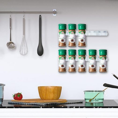 Wall Spice Storage Rack