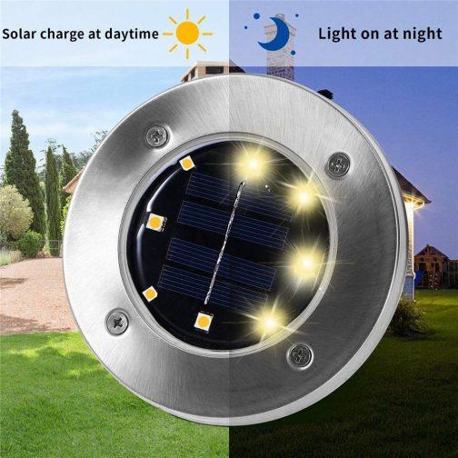 Home Garden Solar LED Lawn Light