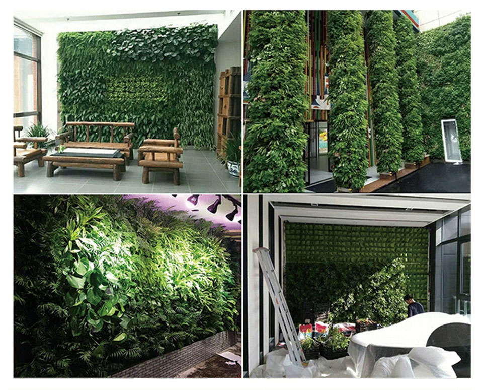 The Wall Garden - Vertical Hanging Growing Bag