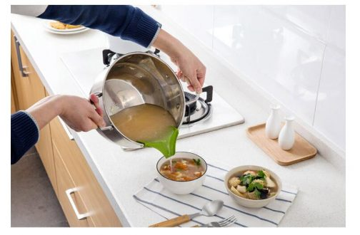 Anti-Spill Kitchenware Deflector