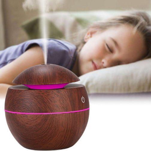 USB Aroma Essential Oil Pearl Diffuser