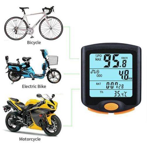 Handy Portable Bike Speedometer