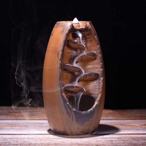 Waterfall Handicraft Incense Holder