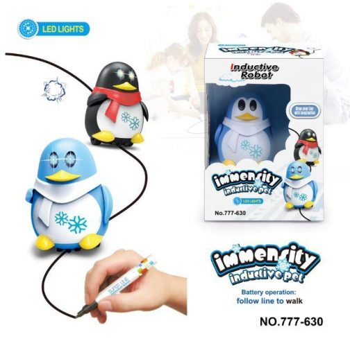 Penguin Line Following Toy