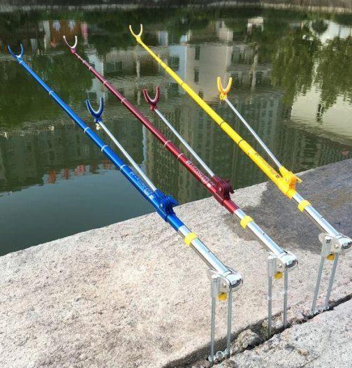 Adjustable Telescoping Carbon Fiber Fishing Rod Holder