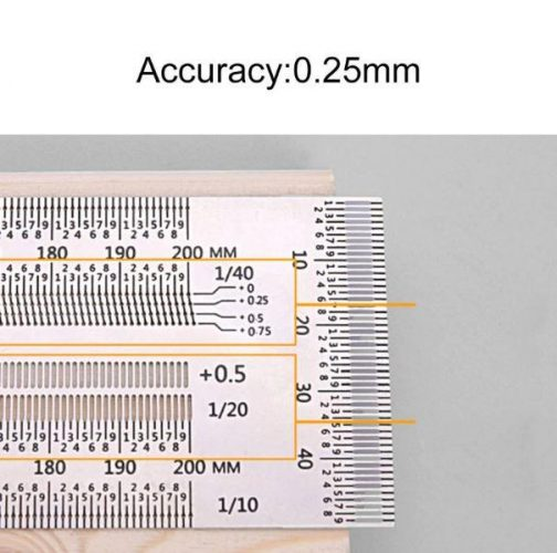 Ultra Precision Marking Rulers
