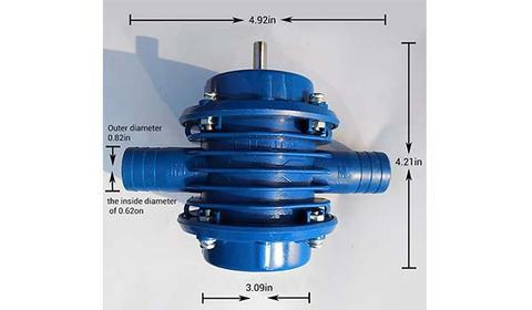Mini Self-Priming Hand Drill Pump