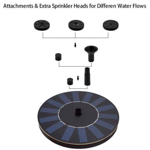 Solar Powered Water Fountain