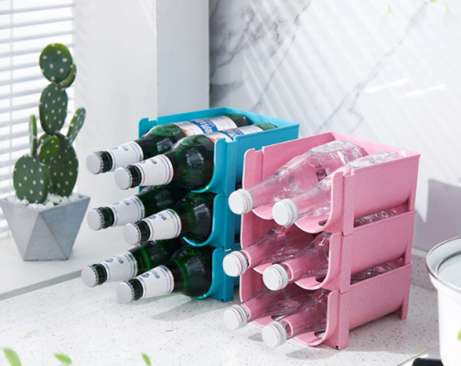 Stackable Drinks Storage Rack