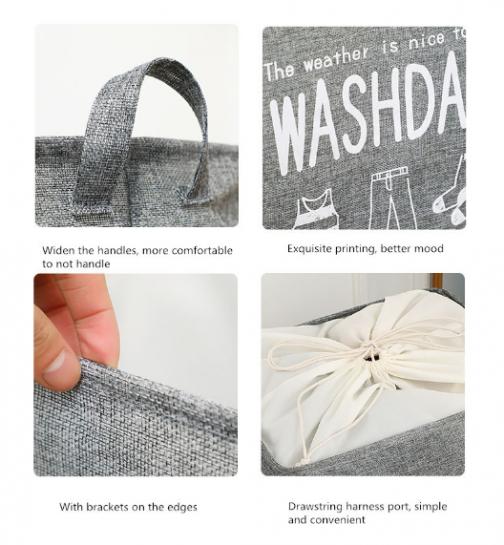 Laundry Basket & Storage Bag
