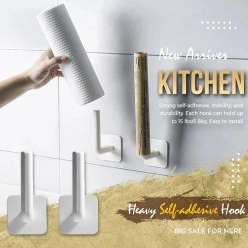Kitchen Heavy Self-Adhesive Hook