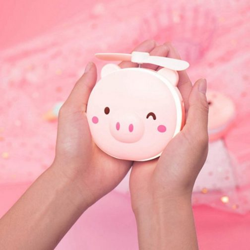 Piglet LED Make-Up Mirror