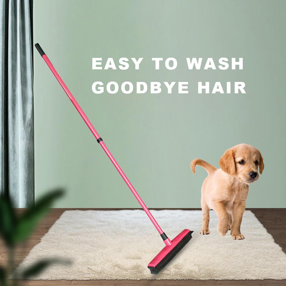 The Pet Rubber Broom