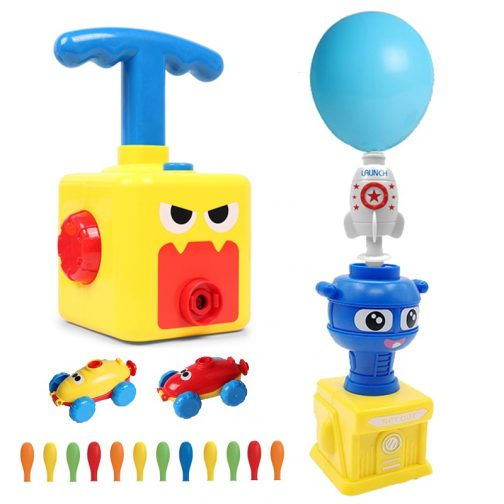 Power Balloon Launch Tower Toy