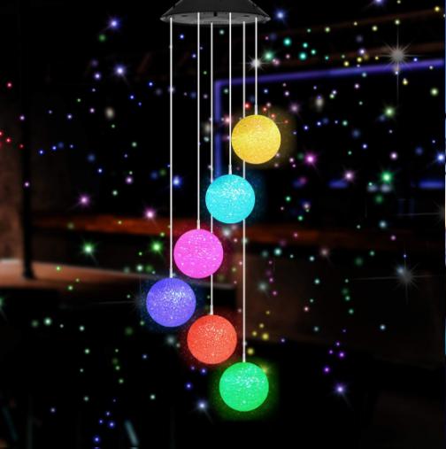 Solar Powered Crystal Ball Light