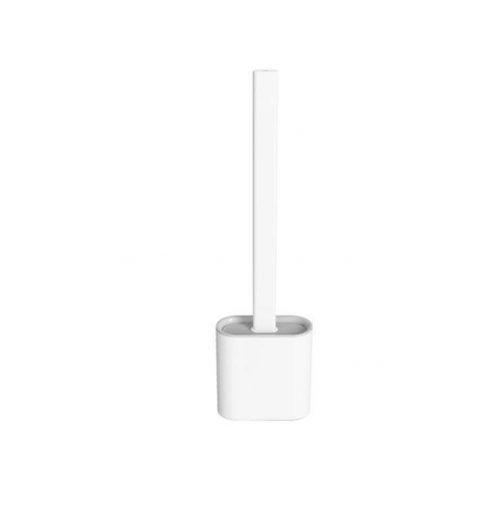 Revolutionary Silicone Flex Toilet Brush With Holder
