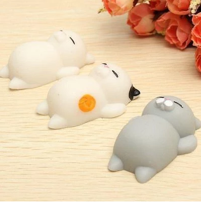 Squishy Cat Stress Reliever