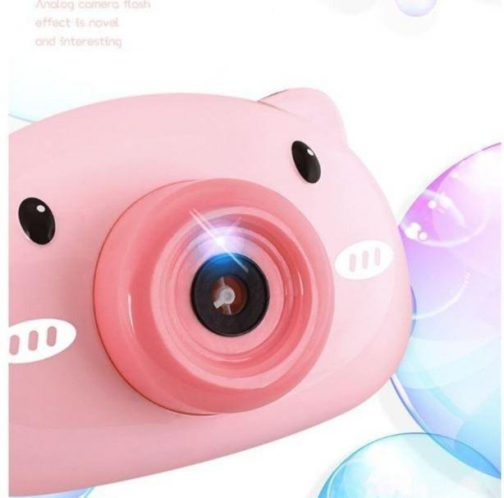 Kids Automatic Bubble Blowing Camera