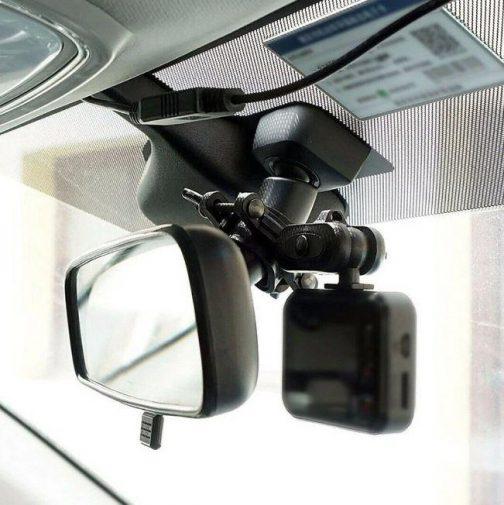 Rear View Mirror Car Mount Holder