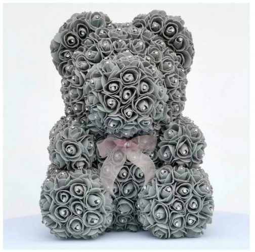 Luxury Diamond Rose Bear