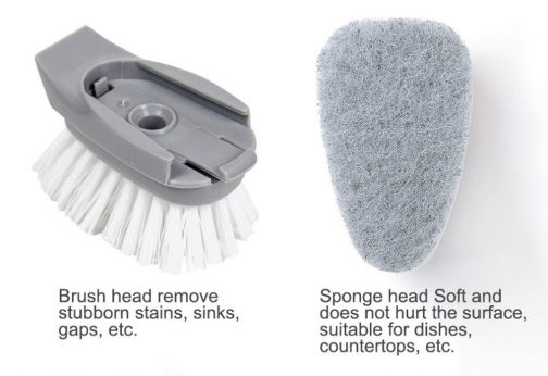Liquid Long Handle Kitchen Cleaning Brush