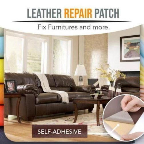 Leather Repair Self-Adhesive Patch (2 PCS)