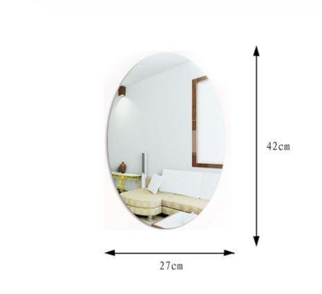 Non-glass Mirror Sticker