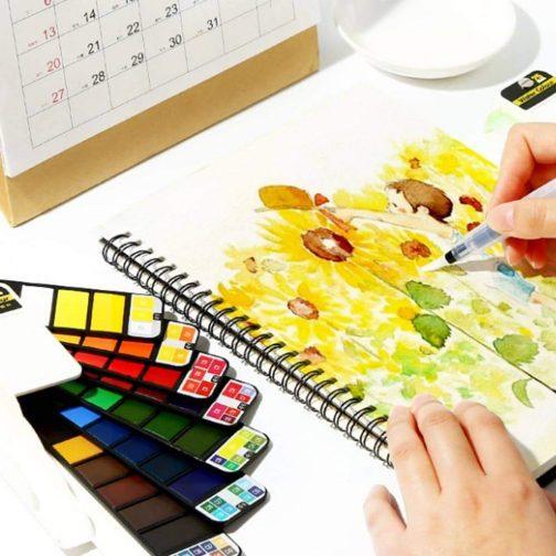 Portable Watercolor Kits