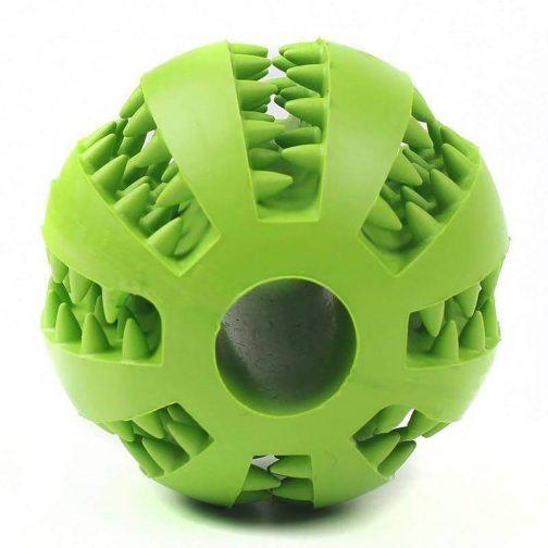 Pet Treat Rubber Ball