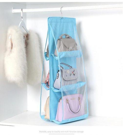 Purse Hanger Organizer For Closet