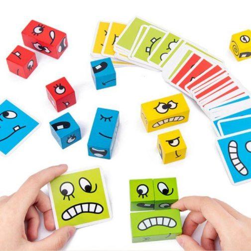Puzzle Building Cubes