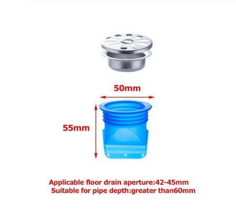 Kitchen Bathroom Silicone Odor-Proof Leak Core