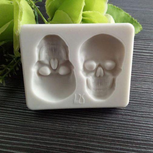 3D Skull Cake Mold