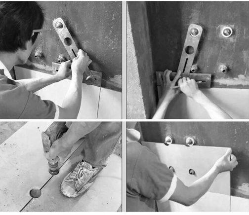 Stainless Steel Tile Hole Locator