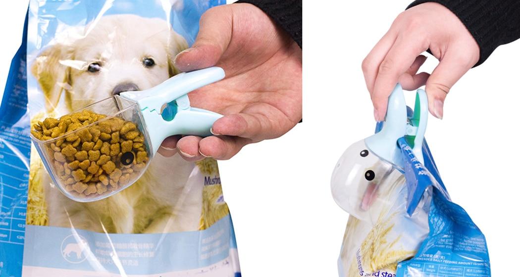 Multi-Purpose Cute Cartoon Pet Food Scoop