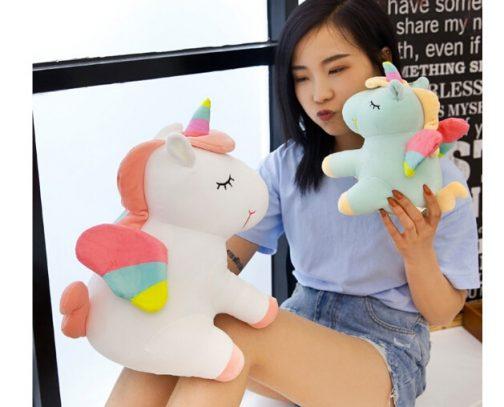 Cute Rainbow Unicorn Plush Toy