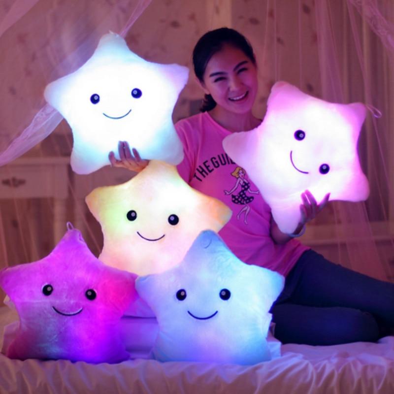 Luminous Star Pillow