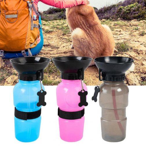 500ml Dog Water Bottle Pet