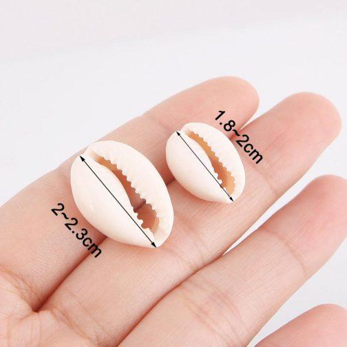 50 pcs Natural Sea Shell Loose Beads