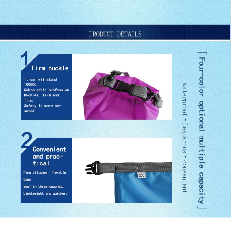 Waterproof Large Capacity Pouch Dry Bag Lolovee