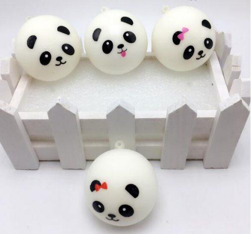 Squishy Panda Bun