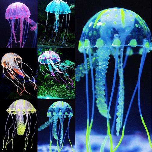 Artificial Swim Glowing Effect Jellyfish