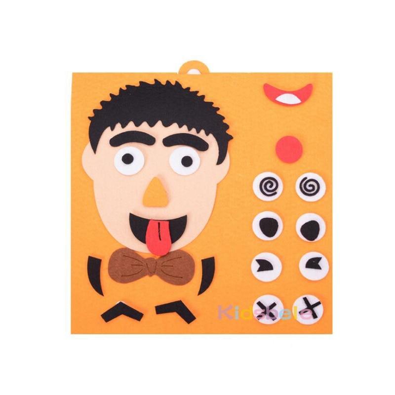 DIY Toys Emotion Change Puzzle Toys