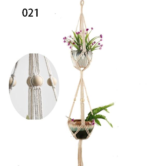 Hot-sales-100-handmade-macrame-plant-hanger-flower-pot-hanger-for-wall-de++